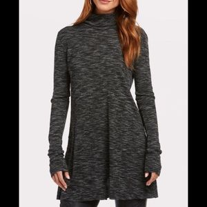 NEW NWT Free People Stonecold Tunic Grey SMALL
